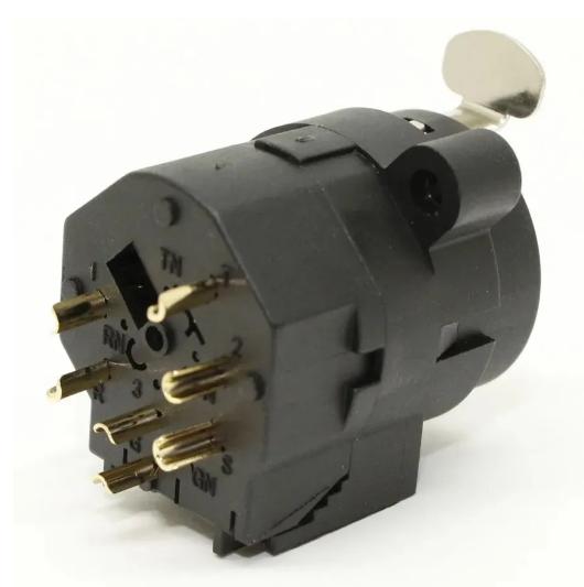 Conector Plug Combo Xlr Fêmea P10 Painel Medusa Kit com 06  - MegaLojaSP