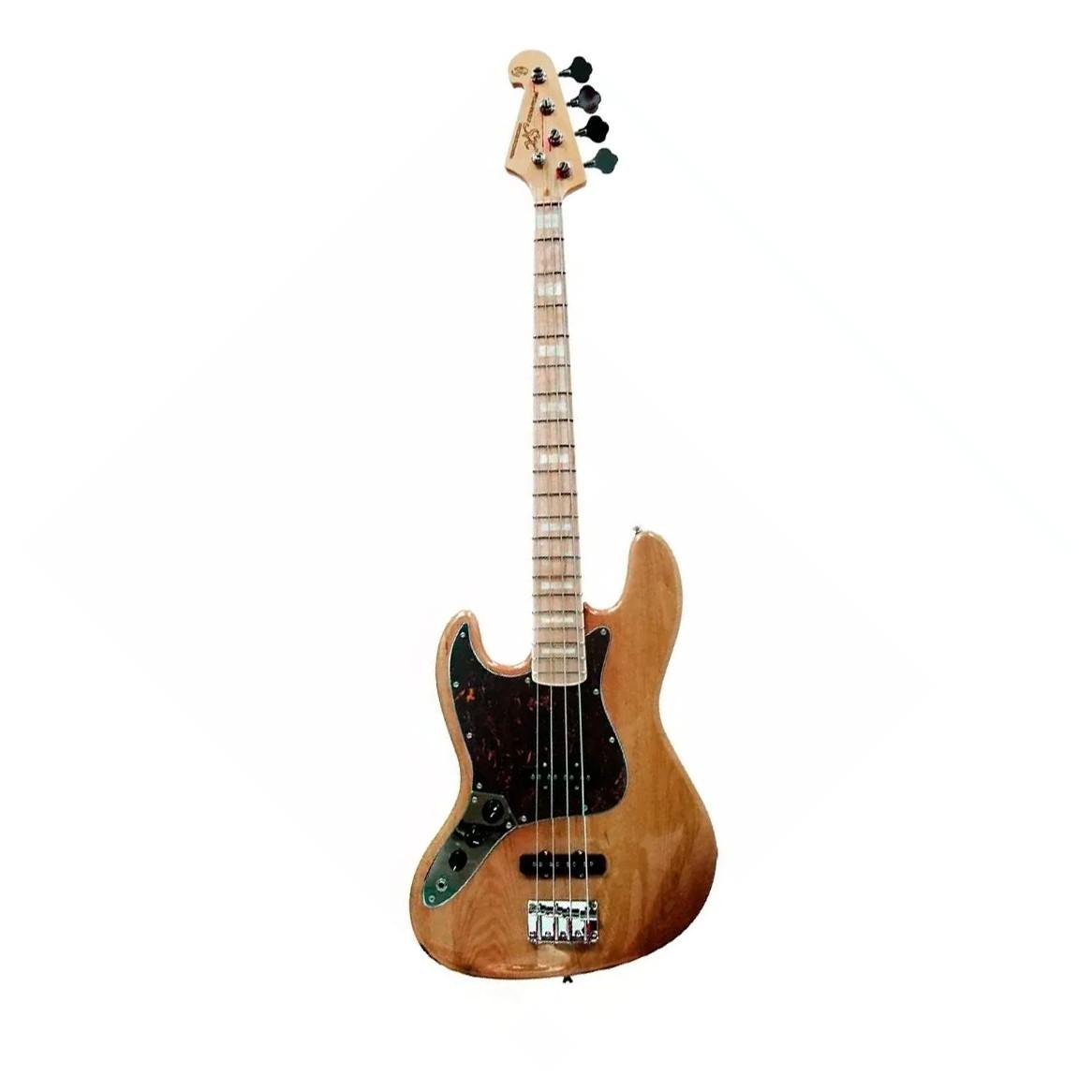 Contra Baixo Canhoto Sx Sjb75 Lh Tortoise Jazz Bass 4 Cordas  - MegaLojaSP