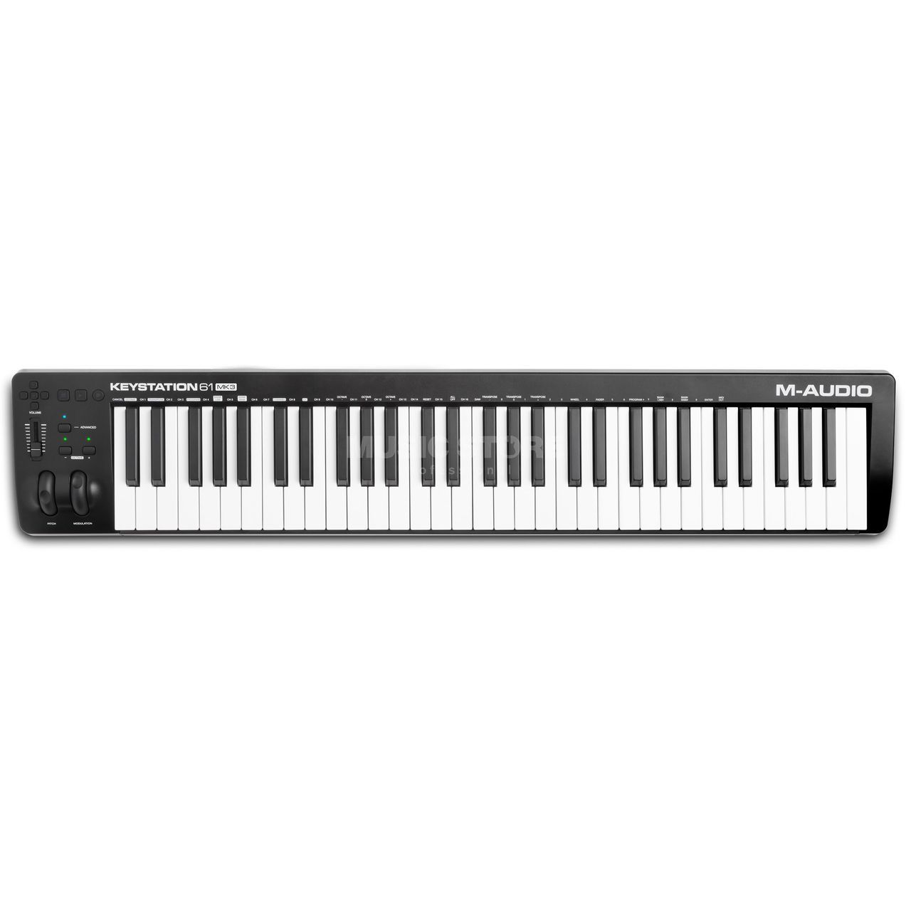 Controlador M Audio Keystation 61 MK3  - MegaLojaSP