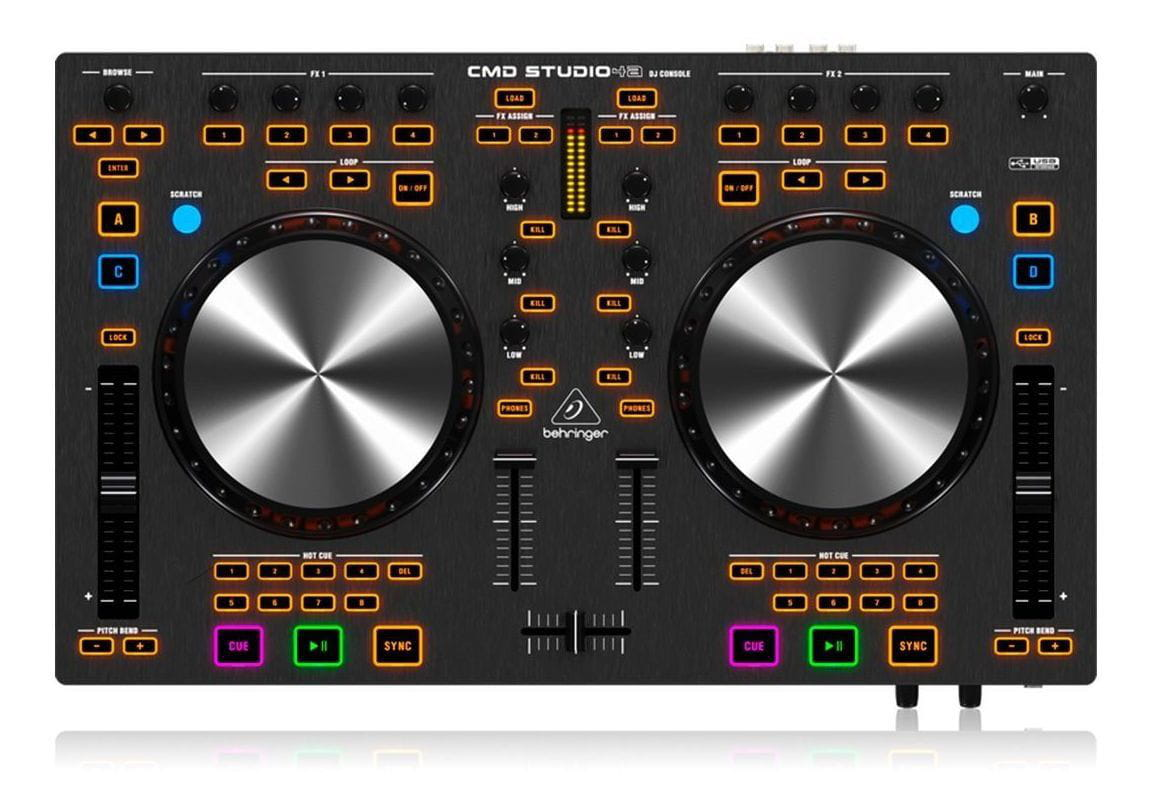 Controladora DJ Behringer CMD Studio 4A  - MegaLojaSP