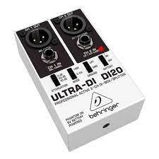 Direct Box Behringer DI20  - MegaLojaSP