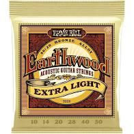 Encordoamento Ernie Ball Earthwood 10-50 Violão  - MegaLojaSP