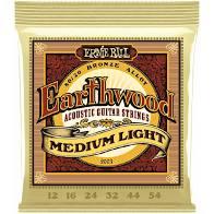 Encordoamento Ernie Ball Earthwood 12-54 Violão  - MegaLojaSP