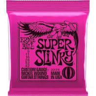 Encordoamento Ernie Ball Super Slinky 9-42 Guitarra  - MegaLojaSP