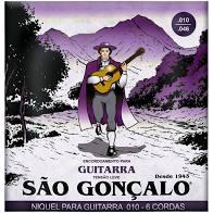 Encordoamento São Gonçalo Guitarra 10/46 IZ11027  - MegaLojaSP