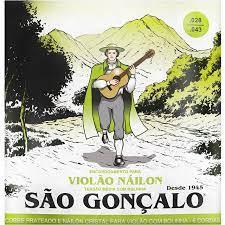 Encordoamento São Gonçalo Violão Nylon com Bolinha  IZ11039  - MegaLojaSP