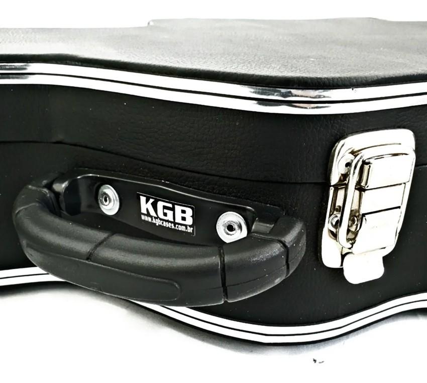 Estojo Case de Luxo p/ Violão Clássico KGB VCMKGB  - MegaLojaSP