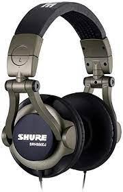 Fone de Ouvido Shure SRH550 DJ   - MegaLojaSP