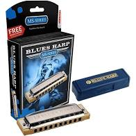 Gaita Hohner Blues Harp em C(dó) 532/20 MS Series  - MegaLojaSP
