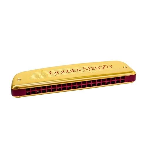 Gaita Hohner Harmônica Golden Mellody 2416/40 Em C   - MegaLojaSP