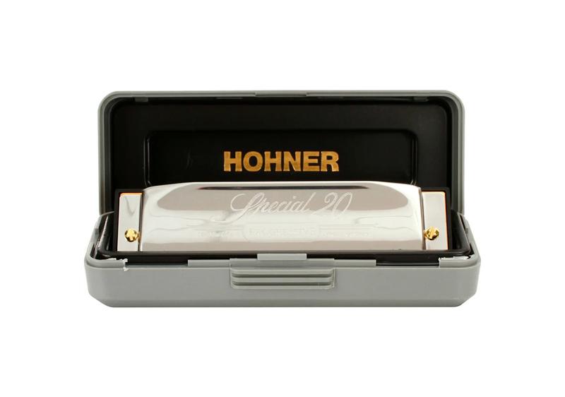 Gaita Hohner Harmônica Special 20 - 560/20 C  - MegaLojaSP