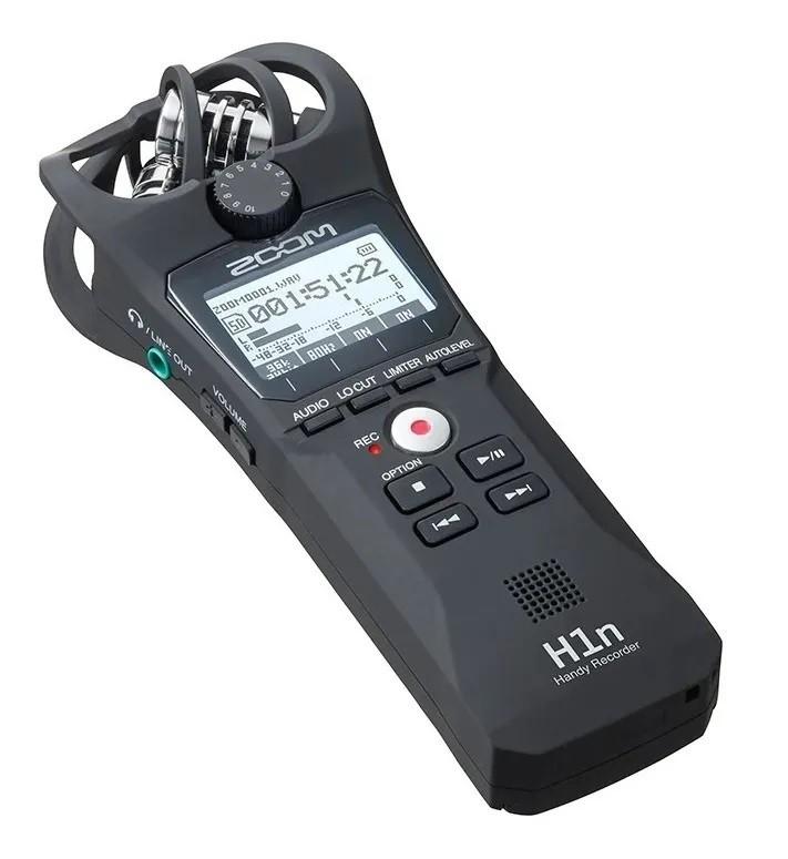 Gravador Digital de Mão Zoom Handy Recorder H1n  - MegaLojaSP