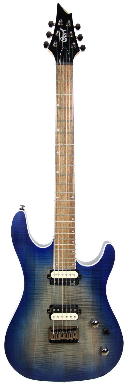 Guitarra Cort KX300 OPCB EMG Colbat Blue  - MegaLojaSP