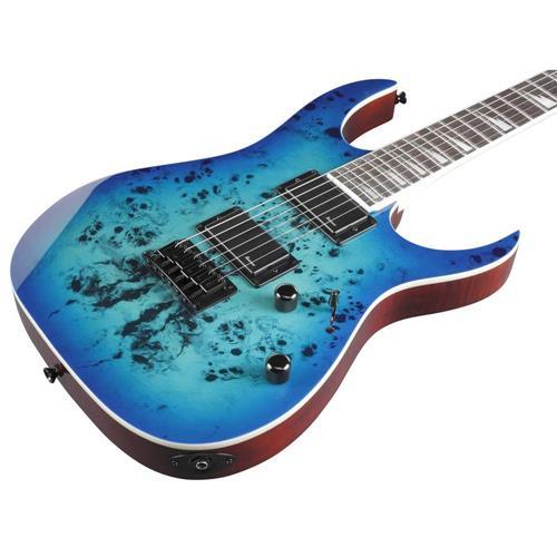 Guitarra Ibanez GRGR 221pa AQB Aqua Burst  - MegaLojaSP
