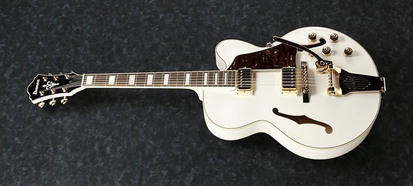 Guitarra Ibanez Semi-Acústica AF75TDG Ivory  - MegaLojaSP