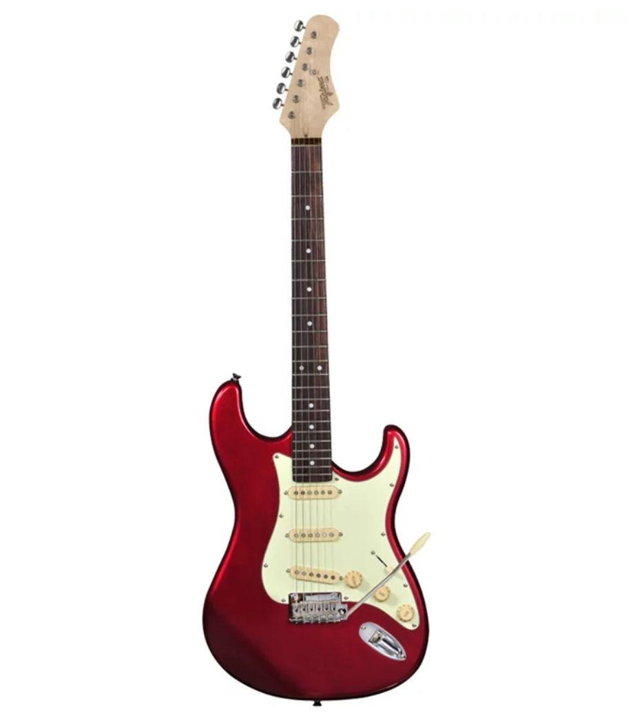 Guitarra Tagima Strato T635 Classic Vermelho Metálico T-635  - MegaLojaSP