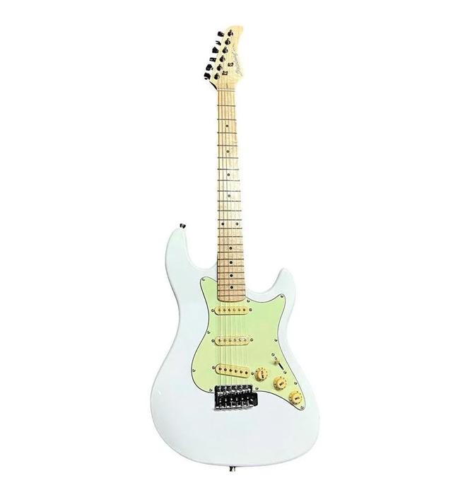 Guitarra Strinberg Stratocaster Escudo Mint Green STS150MWH  - MegaLojaSP