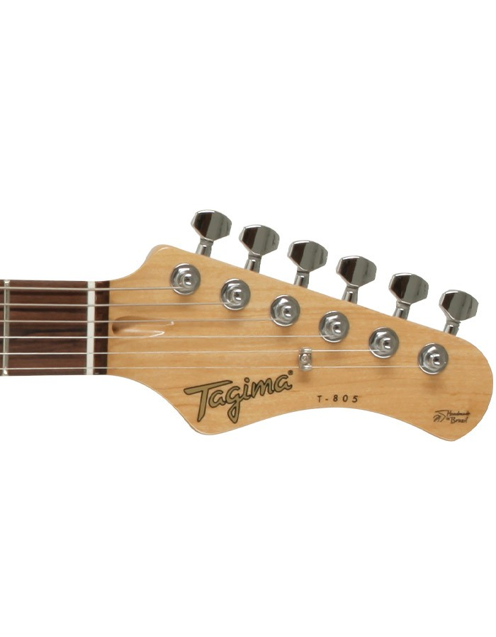 Guitarra Tagima T805 Tarraxa Cromada Black  - MegaLojaSP