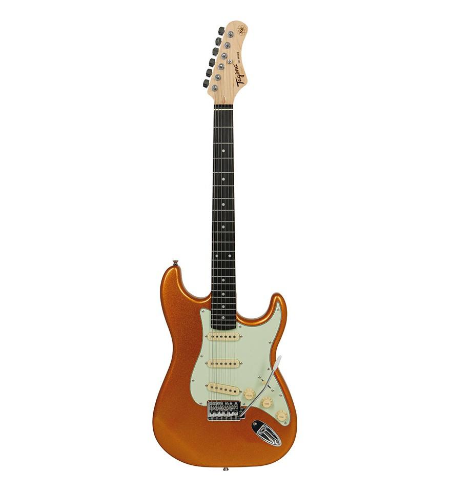 Guitarra Tagima TG500 Woodstock Laranja Metálico TG-500  - MegaLojaSP