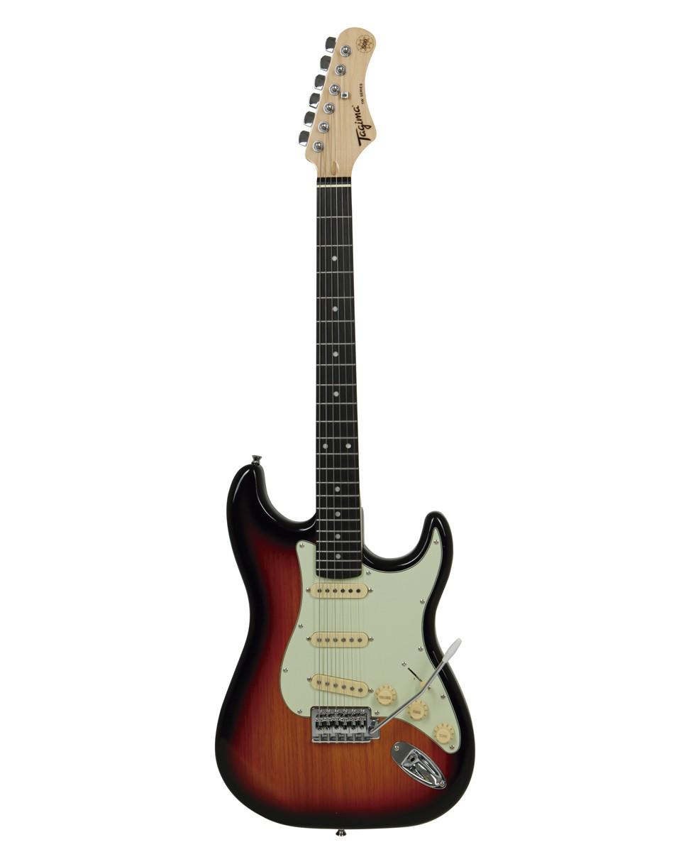 Guitarra Tagima TG500 Woodstock Sunburst Metálico TG-500  - MegaLojaSP