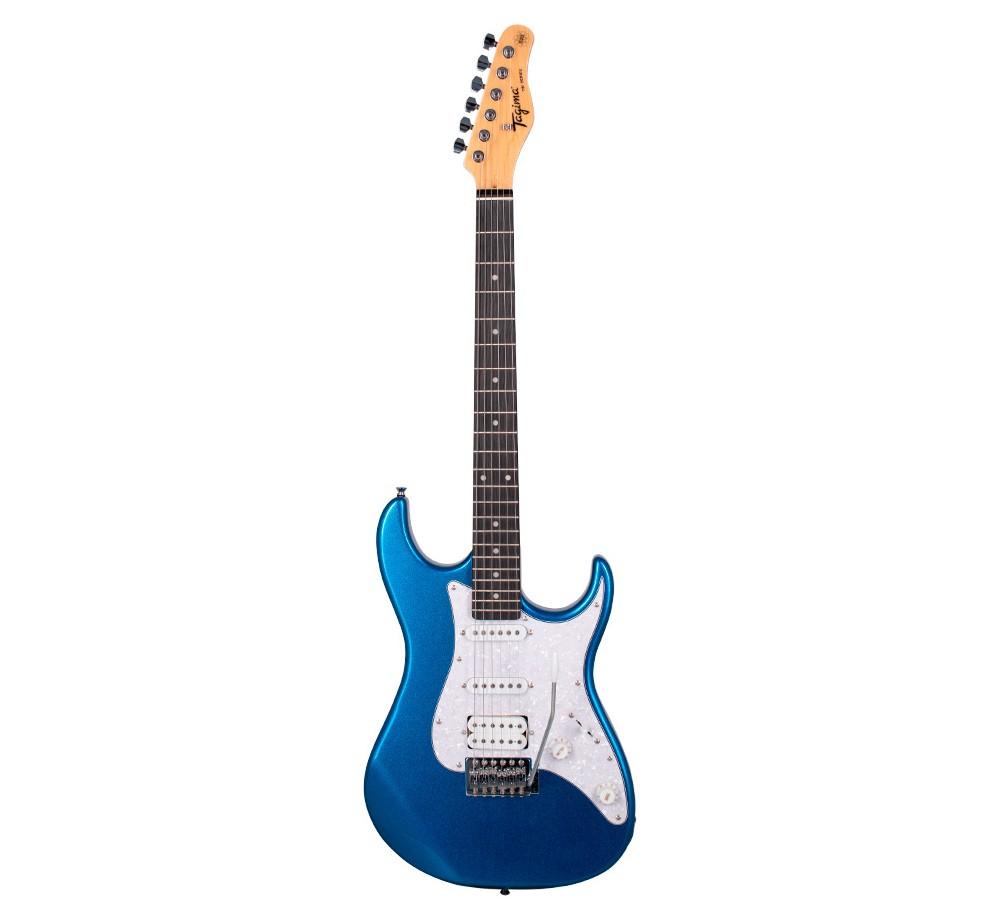 Guitarra Tagima TG520 Woodstock Metalica Azul TG-520  - MegaLojaSP