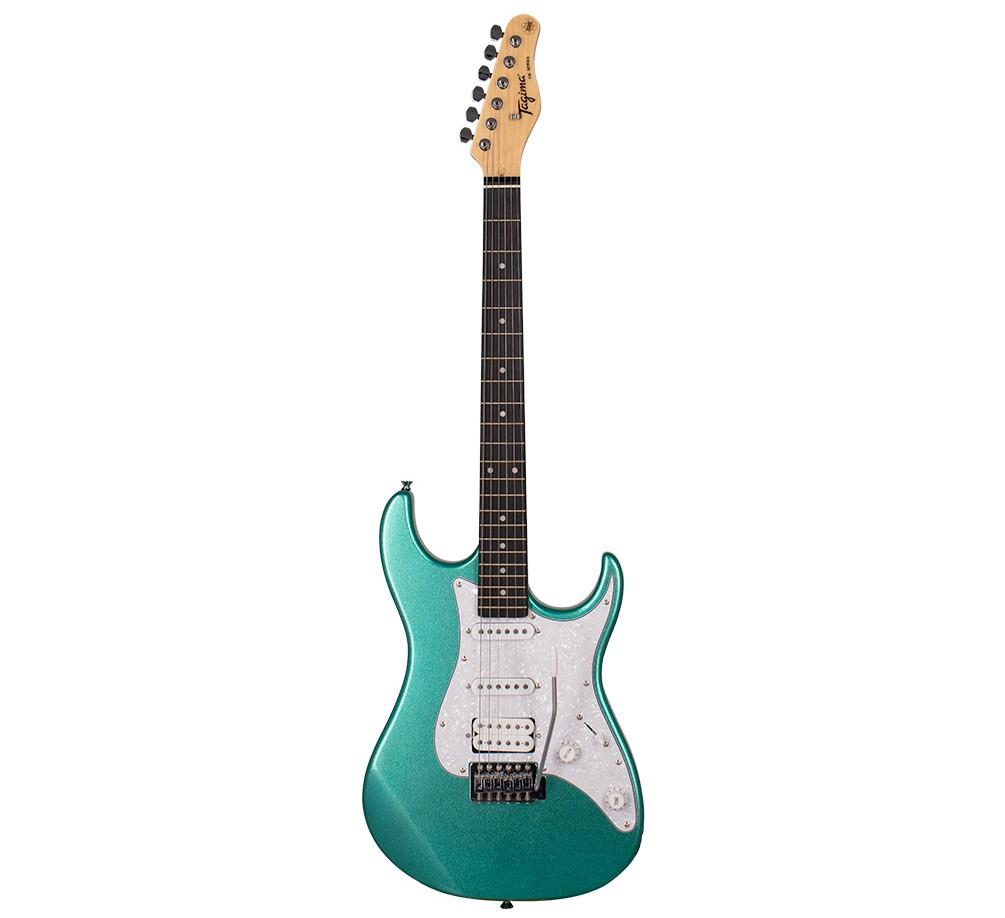 Guitarra Tagima TG520 Woodstock Metalica Verde TG-520  - MegaLojaSP