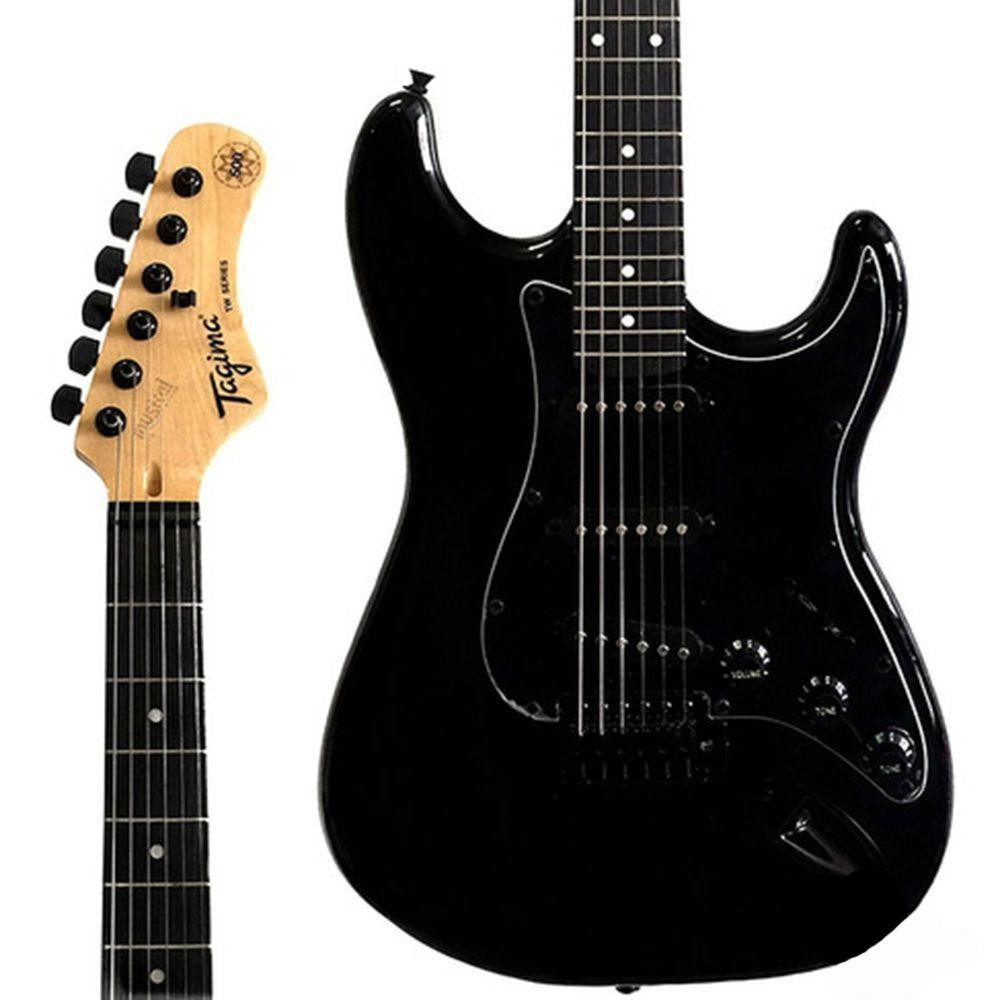 Guitarra Tagima Woodstock Tg500 Preta  - MegaLojaSP
