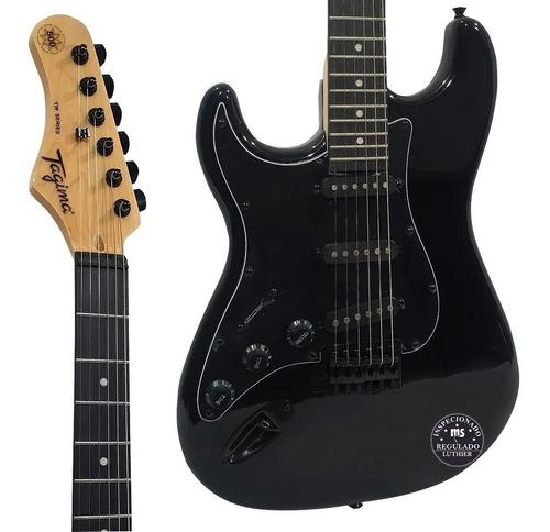 Guitarra Tagima Woodstock Tg500 Preta Canhoto  - MegaLojaSP
