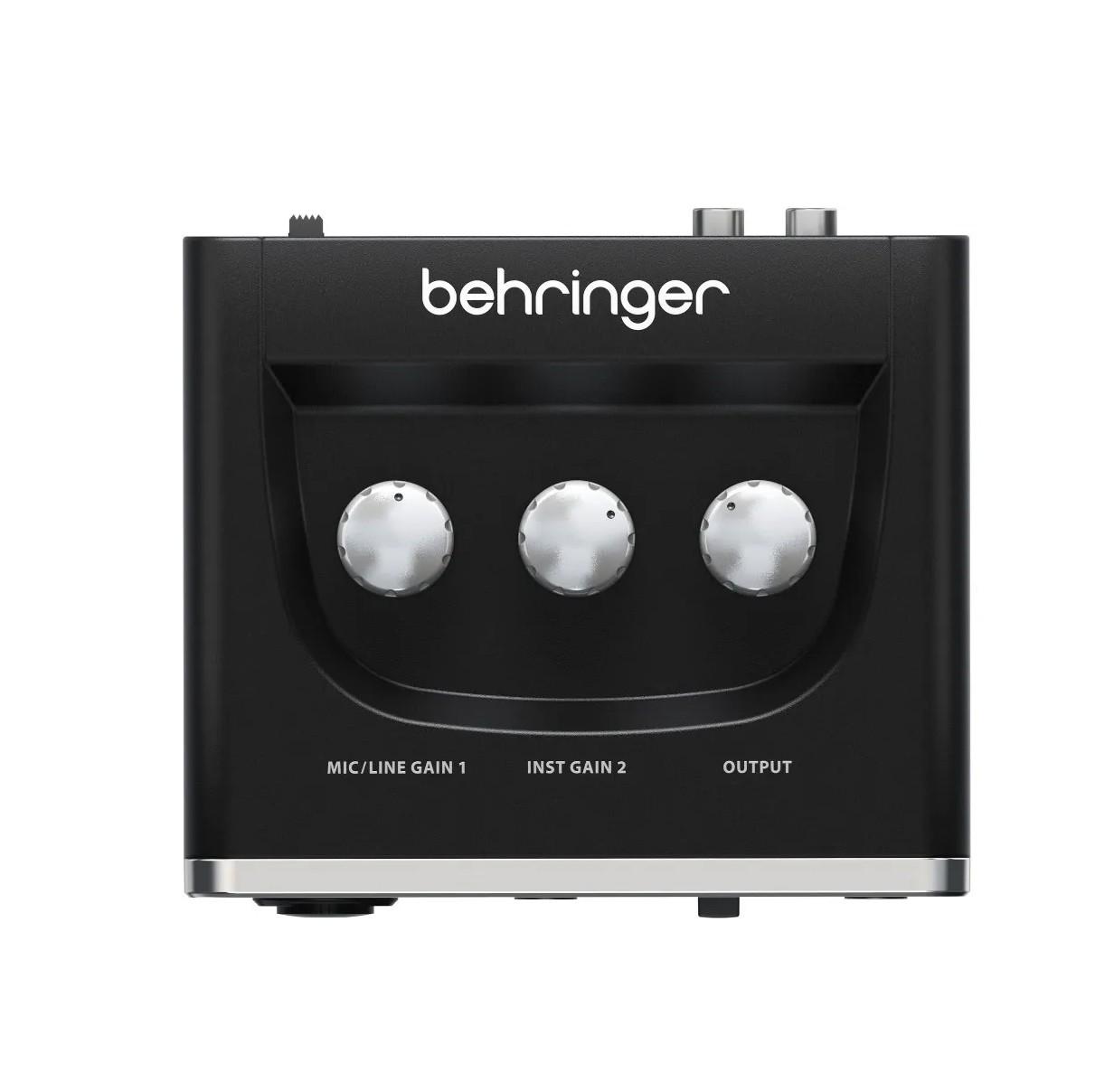 Interface De Áudio Behringer Usb U-phoria Um2 48 Khz  - MegaLojaSP