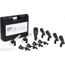 KIt de Microfones para Bateria Samson DK707  - MegaLojaSP