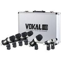 KIt de Microfones para Bateria Vokal VDM7   - MegaLojaSP