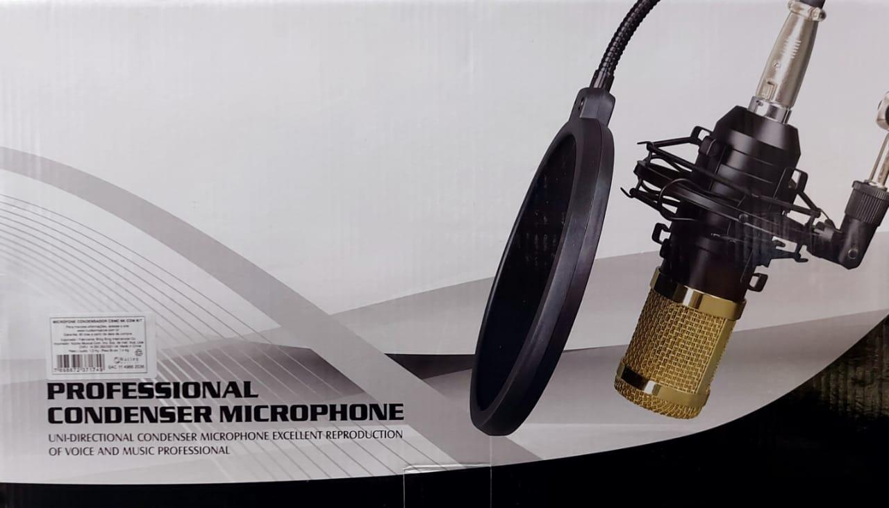 kit microfone Custom sound csmc 6k  - MegaLojaSP