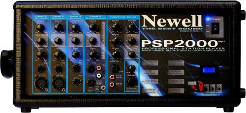 Mesa de Som Amplificada Newell PSP2000   - MegaLojaSP
