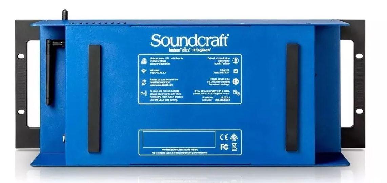 Mesa De Som Soundcraft  Digital Ui24r Ui24  - MegaLojaSP
