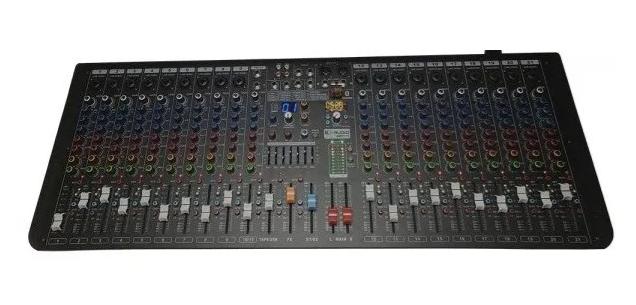 Mesa De Som K-audio 20 Canais Com Efeito E Usb Mp2010   - MegaLojaSP