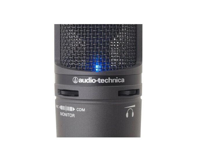 Microfone Audio-Technica Condensador Usb  AT2020USB+  - MegaLojaSP
