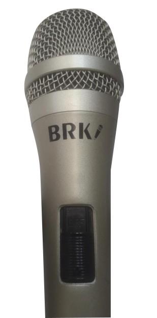 Microfone Barukh  Dinâmico de Mão para Voz B845S  - MegaLojaSP