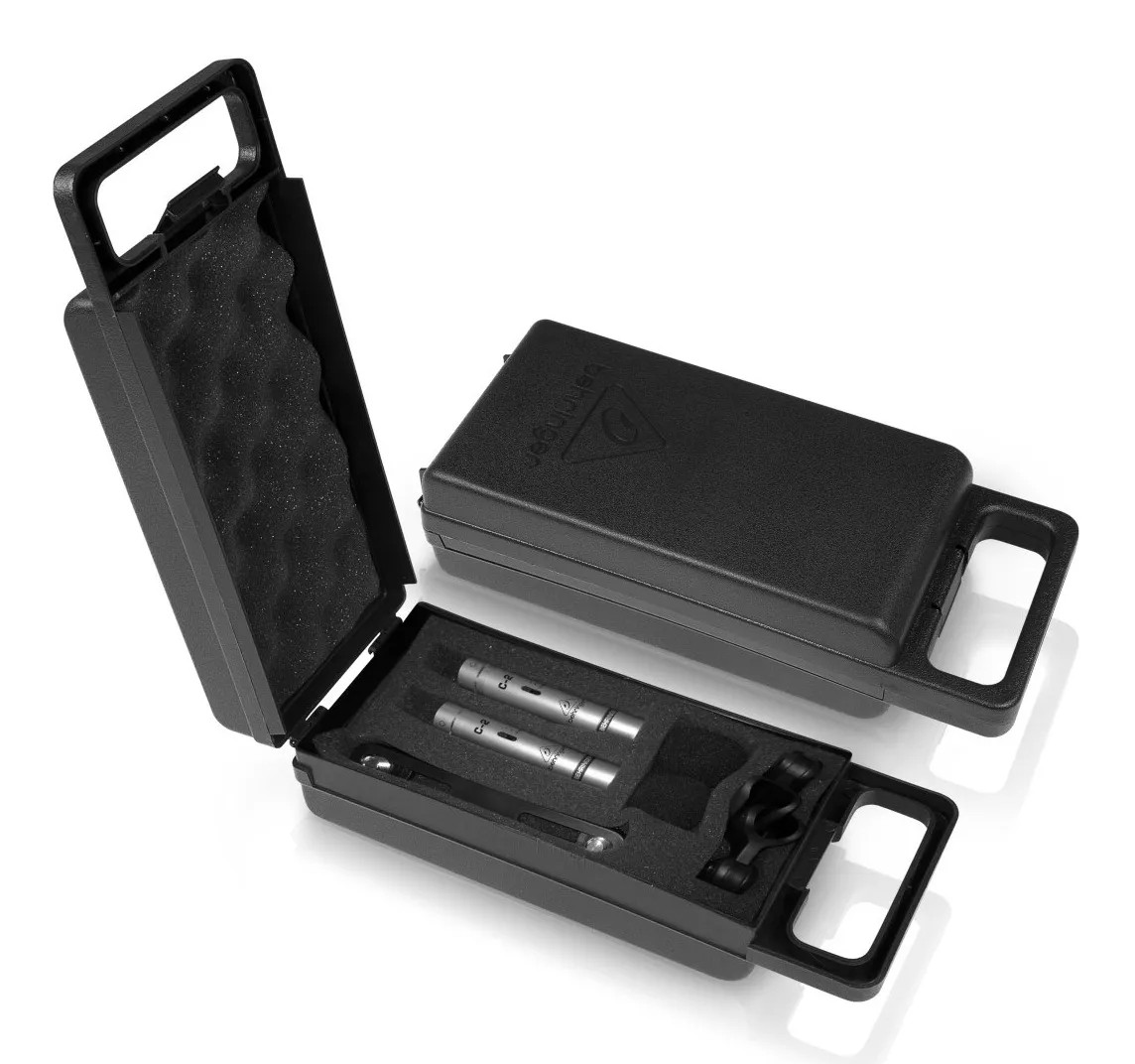 Microfone Behringer Condensador Para Estúdio C2 (par)  - MegaLojaSP