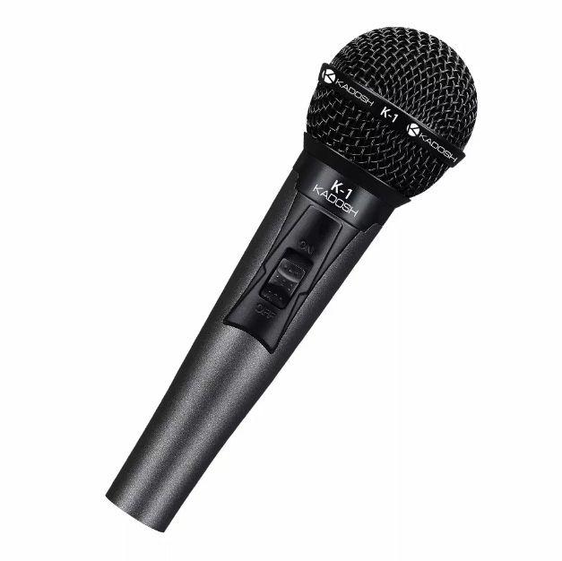 Microfone Kadosh Dinâmico Com Fio K1 De Mão  - MegaLojaSP