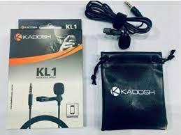 Microfone Kadosh KL1 Lapela Com fio  - MegaLojaSP