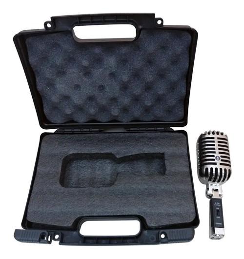 Microfone Kadosh Vintage K36 Cardioide Estilo Retro Metal  - MegaLojaSP