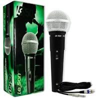 Microfone Leson LS50 Mão Com fio  - MegaLojaSP
