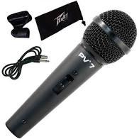 Microfone Peavey PV7 Mão Com Fio  - MegaLojaSP