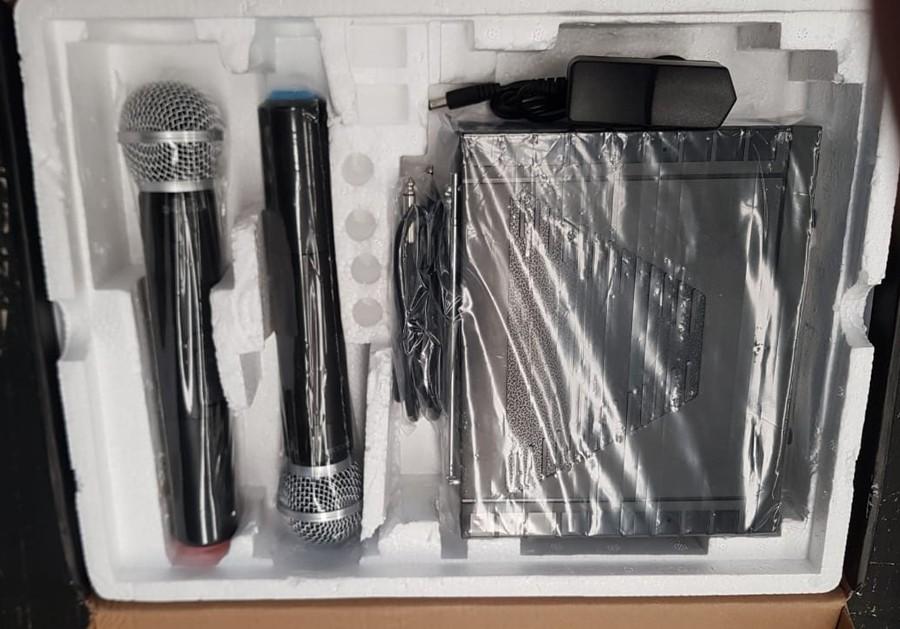 Microfone Profissional Sem Fio Duplo Kadosh K312m  - MegaLojaSP