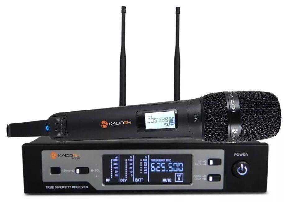 Microfone Sem Fio Kadosh K1201m K-1201m (uhf / Digital)  - MegaLojaSP