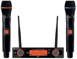 Microfone Sem Fio Kadosh K482M Multicanal   - MegaLojaSP