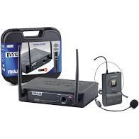Microfone Sem Fio Vokal DVS100SH Headset UHF Individual   - MegaLojaSP