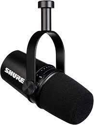 Microfone Shure MV7 Podcast Preto  - MegaLojaSP