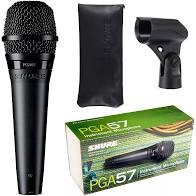 Microfone Shure Pga57 LC  - MegaLojaSP