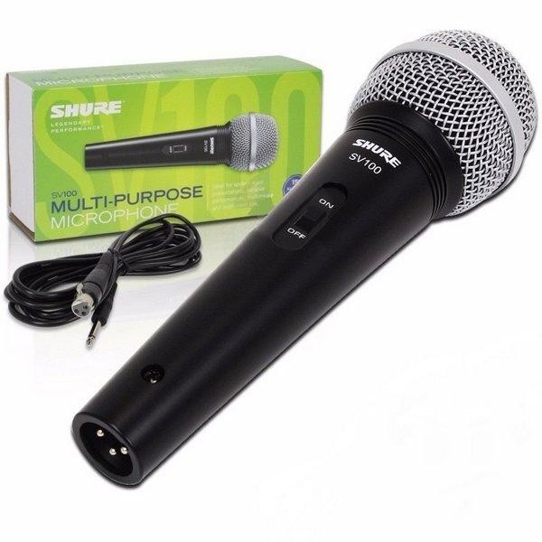 Microfone Shure SV 100  - MegaLojaSP